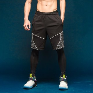 Force Saber 1 Airness hollow Training Shorts - Black Stars Stardust son