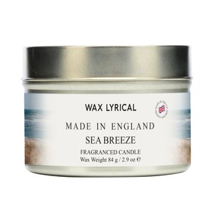 British candle MIE series sea breeze tin canned candle