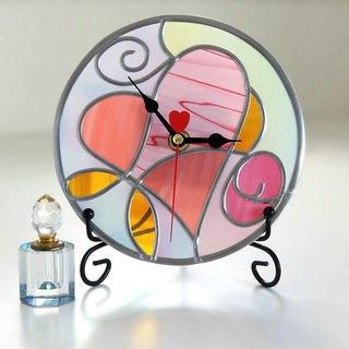 Round Acrylic hanger / placehold watch  Fairy Heart