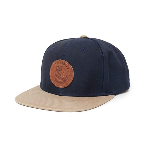 Filter017 x F5S 'Far From The Madding Crowd' Collection Leather Label Snapback Cap 聯名皮標棒球帽