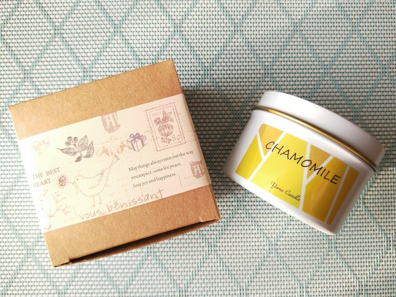 Chamomile essential oil Candle