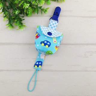 Q version of the car -2 color optional. Pacifier storage bag + a pacifier chain (40 can increase the price of embroidery name)