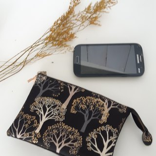 Golden tree five-layer clutch (can be put on the phone) - give your loved ones and their own practical gifts