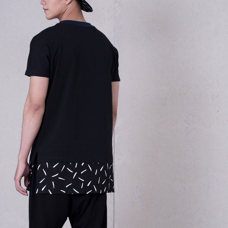 CAVEMAN Top - KABUTO Black Splash Jersey Top