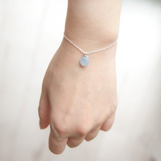 "Silver Bubble Bubble Bracelet ""Small Chain Club"" BSV001"