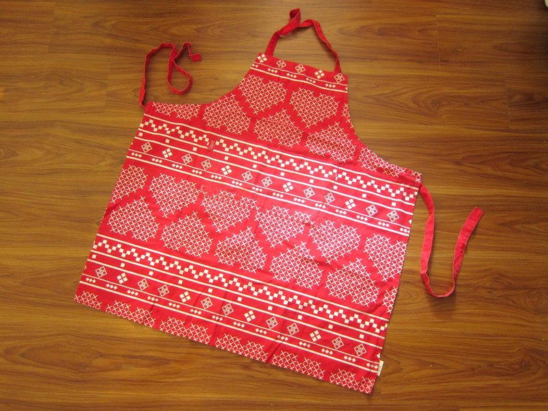 Finland CASA printing Cotton Cross aprons