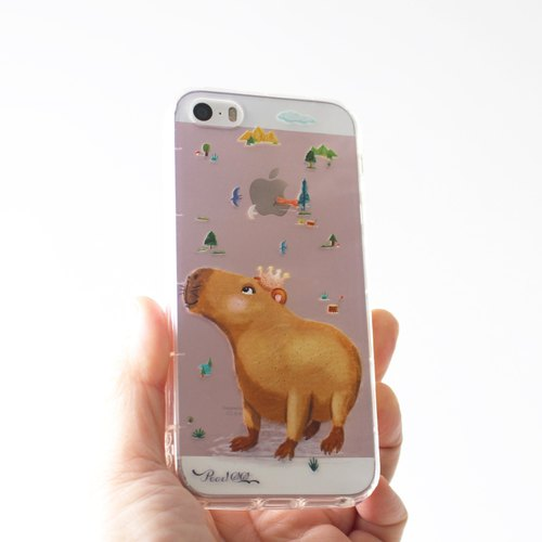 Capybara phone case _ iPhone, Samsung, HTC, LG, Sony