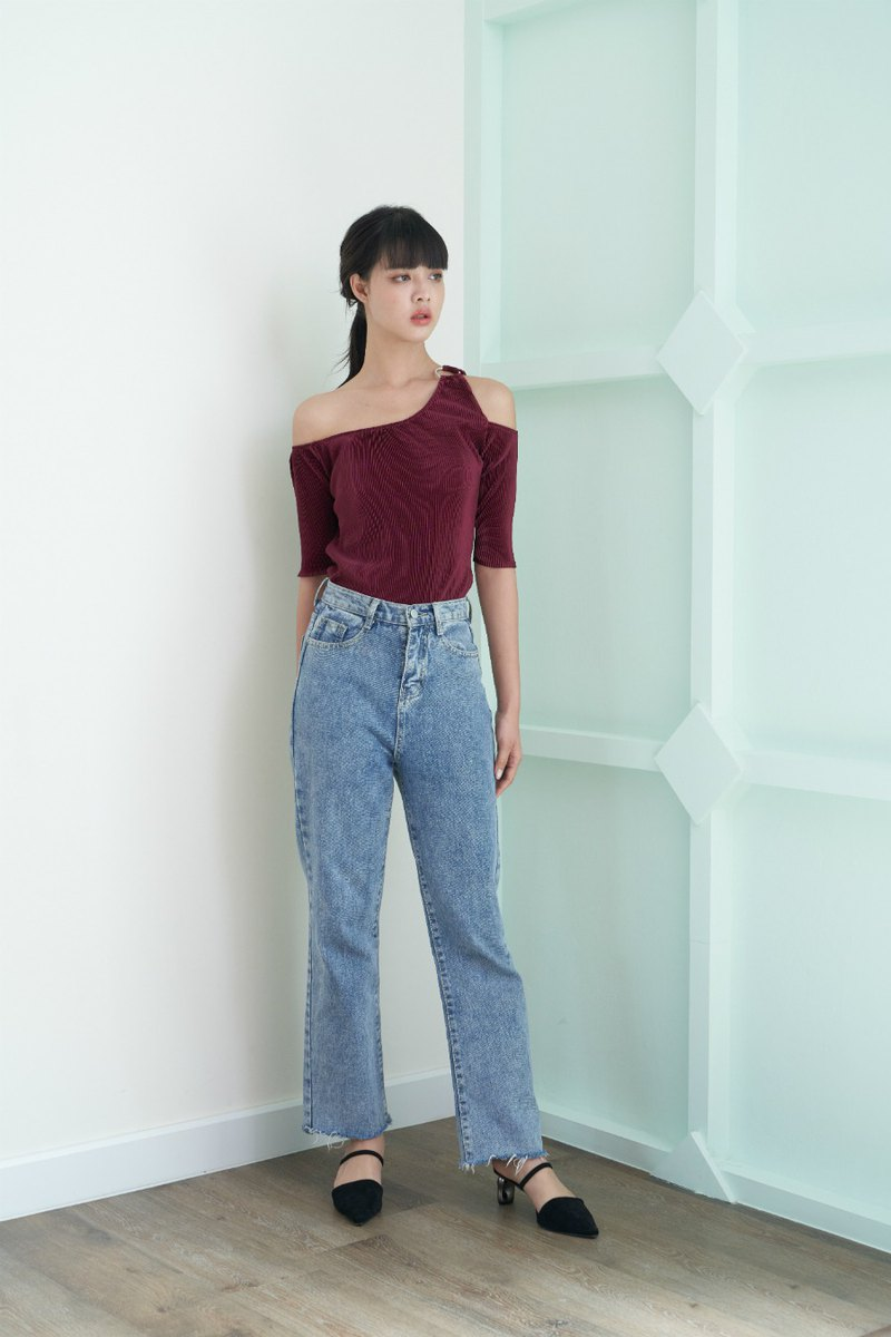 Molly top (burgundy)