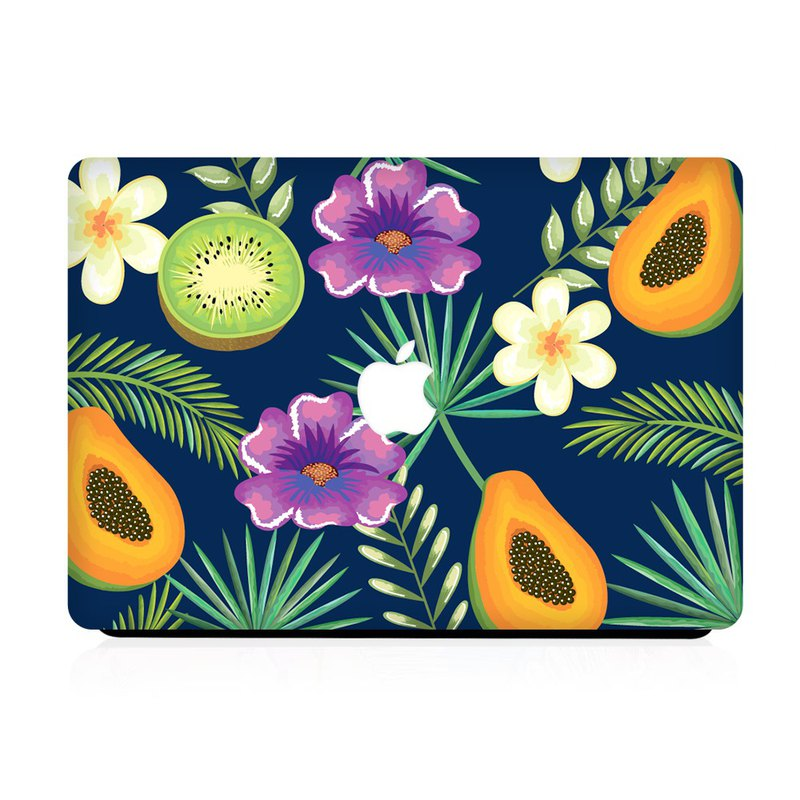 Slick Case MacBook Case - Papaya Kiwi Mix