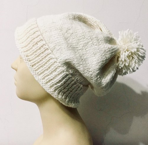 ♡ Duplex ♡ Handmade wool hat - you in winter snow