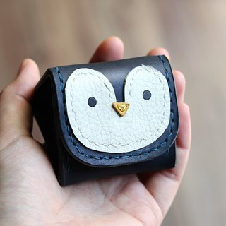 Royal rice ball penguin animal stereo coin purse
