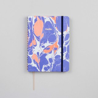 Lava Periwinkle A5 Notebook / Sketchbook