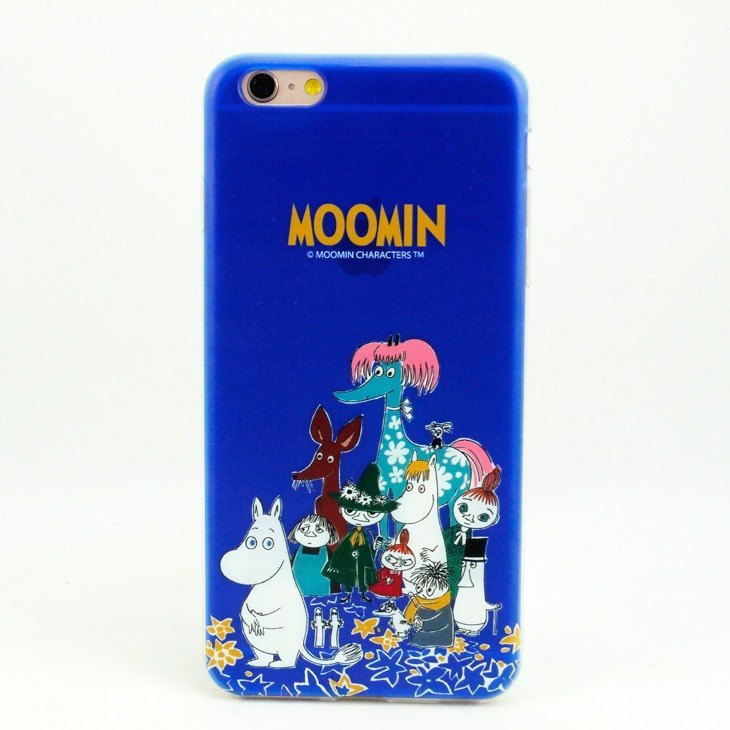 "Moomin Moomin genuine authority -TPU phone case: a large collection of [joy] ""iPhone / Samsung / HTC / ASUS / Sony / LG / millet"""