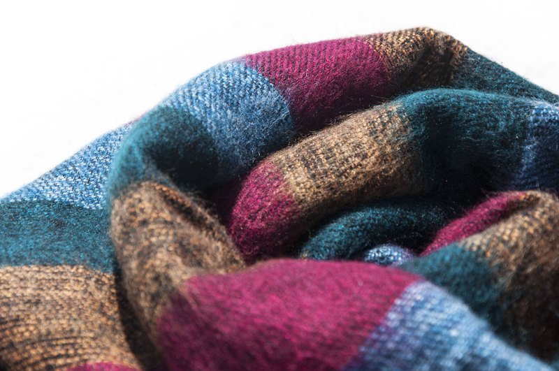 Pure wool scarf / knitted scarf / knitted scarf / cover blanket / pure wool scarf / wool scarf-Portugal