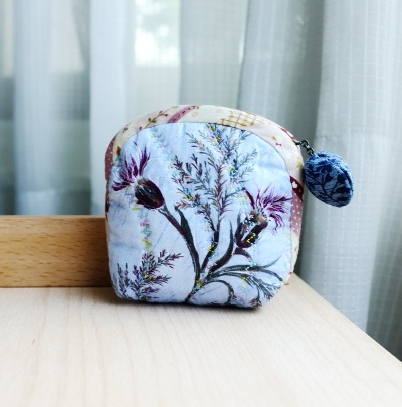 Marine Shell Series Acacia Flower Coin Purse