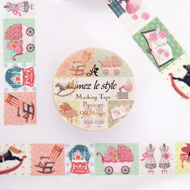 Aimez le style paper tape - Old Memories <A05182>