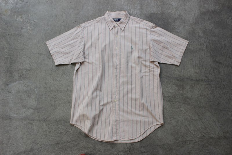 Polo straight short shirt