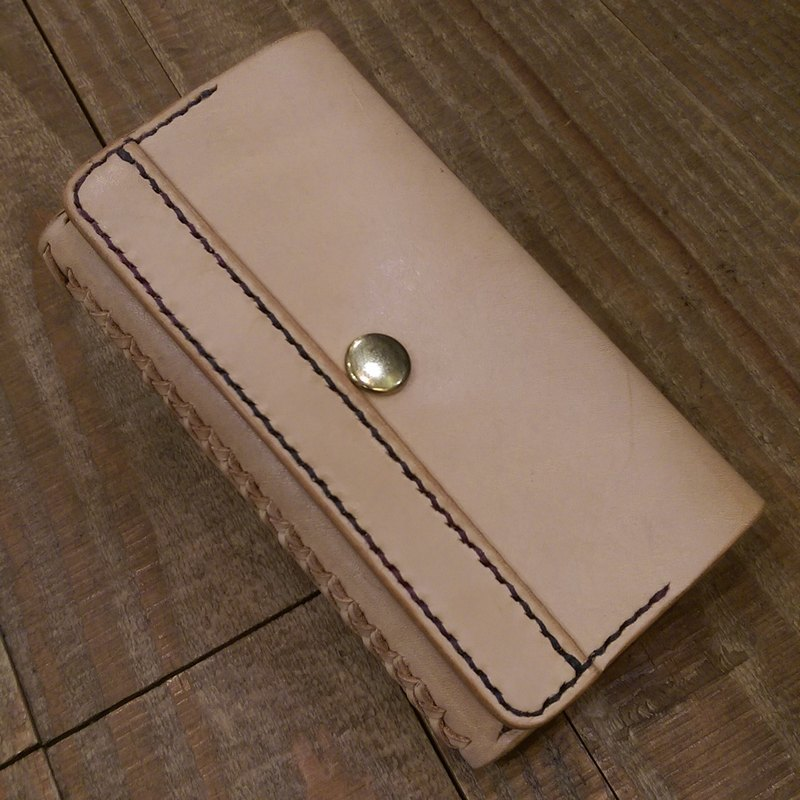 Handmade leather doocoo mobile power protection cover ((free printing, embroidered words)