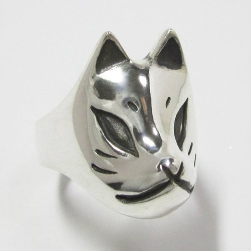 Fox face PINKY RING
