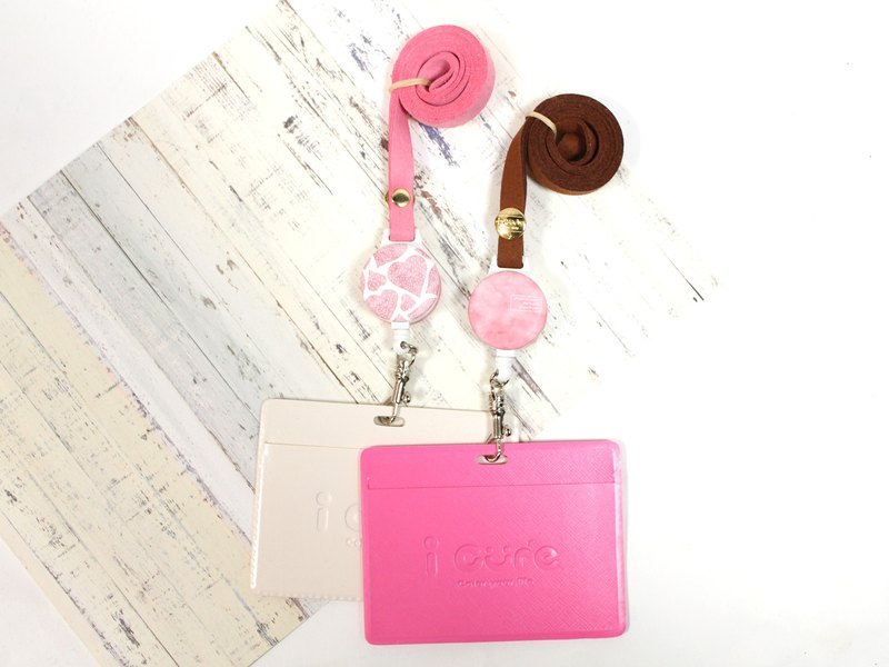 i good wearing telegraphic certificate ticket holder - spring new berry heart Valentine's Day gift