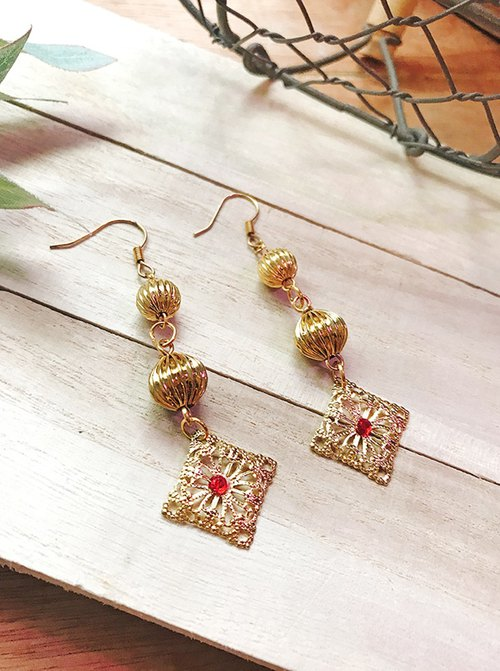 Tanabata two pieces of 20% off Joy joy earrings