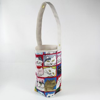 [BD/beverage bag] hand painted cat