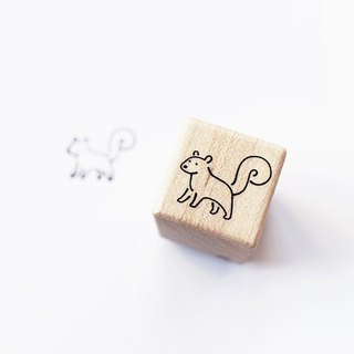 Maotu - Block Stamp (Squirrel Notes)