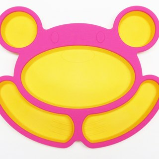Happy Bear Silicone Meal Plate