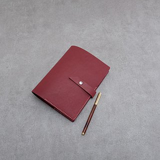 Be Two | Leather handmade leather notebook / Notepad / A5 loose-leaf diary / leather hand-made / Organizer / A5 loose-leaf paper