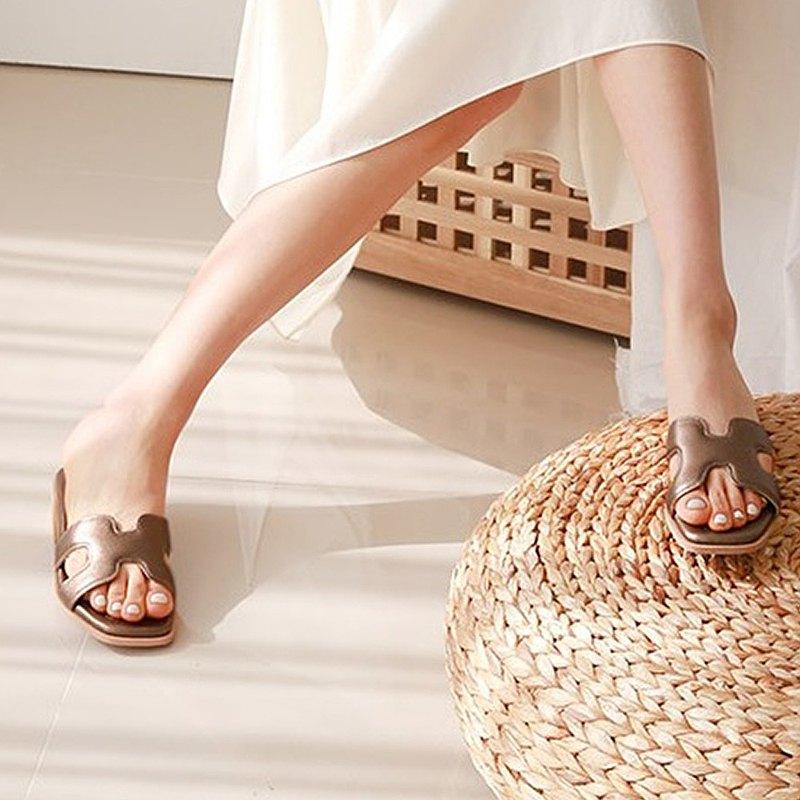PRE-ORDER韓國人手製 MACMOC Single Bronze 涼鞋