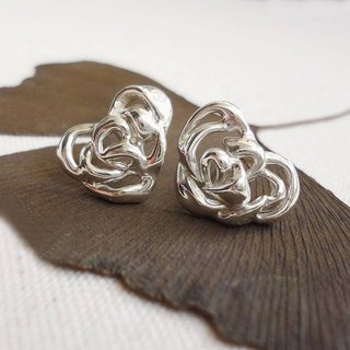 Gentle Rose Lovely Earrings - Ear Needles