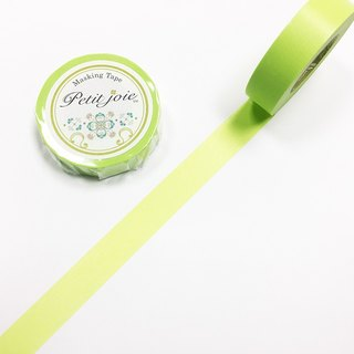 NICHIBAN Petit Joie Masking Tape【Plain - Light Green (PJMT-15S059)】