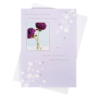 Offer my care to accompany you [Hallmark - Card Festival Sorrow Change]