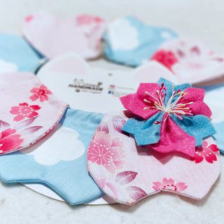 Sakura/ cherry blossom petals pet neck wear accessories