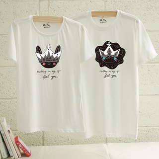 [Valentine's Day Gift] [Love is a gorgeous ghost eye] Couples / short-sleeved T-shirt
