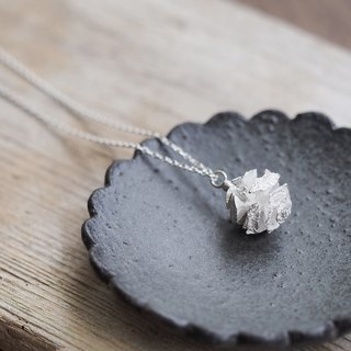 Metasequoia real necklace silver 925