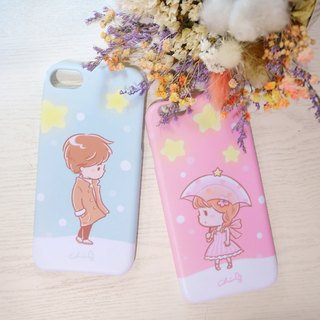 Starlight Meets Mobile Shell Couples / ChiaBB Matte Matte Shell Iphone SAMSUNG