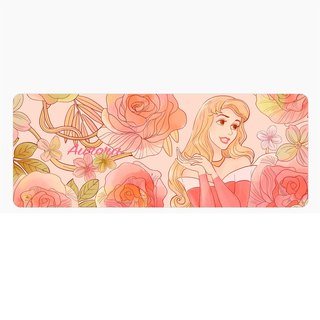 InfoThink Disney Princess Series Flowerbed Mouse Mat - Sleeping Beauty Aurora