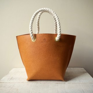 JAPAN Tochigi Leather Floor Leather Tote Bag mare S Camel