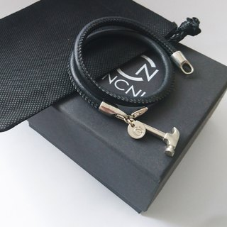 H5  (Silver Black Bracelet and necklace)