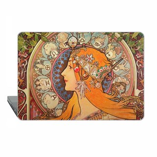 Mucha MacBook case MacBook Pro Retina MacBook Air MacBook Pro hard case art 1726