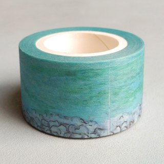 Liuyingchieh Lake Tekapo 和紙膠帶 Washi Masking Tape 25 mm