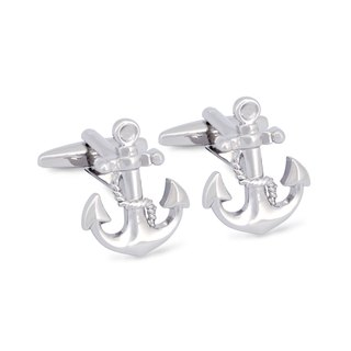 Nautical Anchor Cufflinks