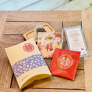 Happiness is coming - four seasons oolong - three-dimensional tea bag * 2 / suitable for cold bubble - customized instructions page