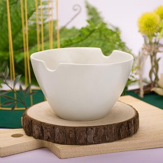 [JOYYE Ceramic Tableware] Natural Primitives Pinch Bowl - Green