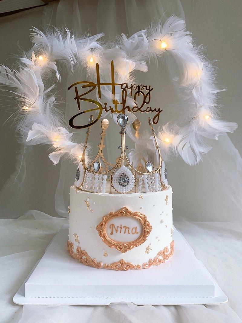 【MSM】皇冠蛋糕 生日蛋糕