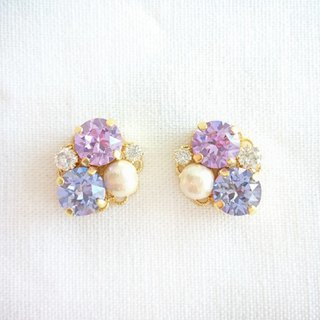 Radiant Orchid Bijou earrings