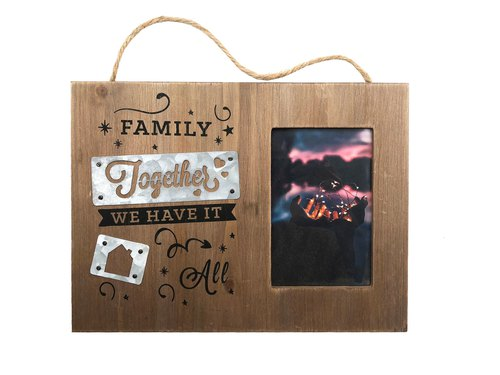 Scandi Photo Frame - Family Together