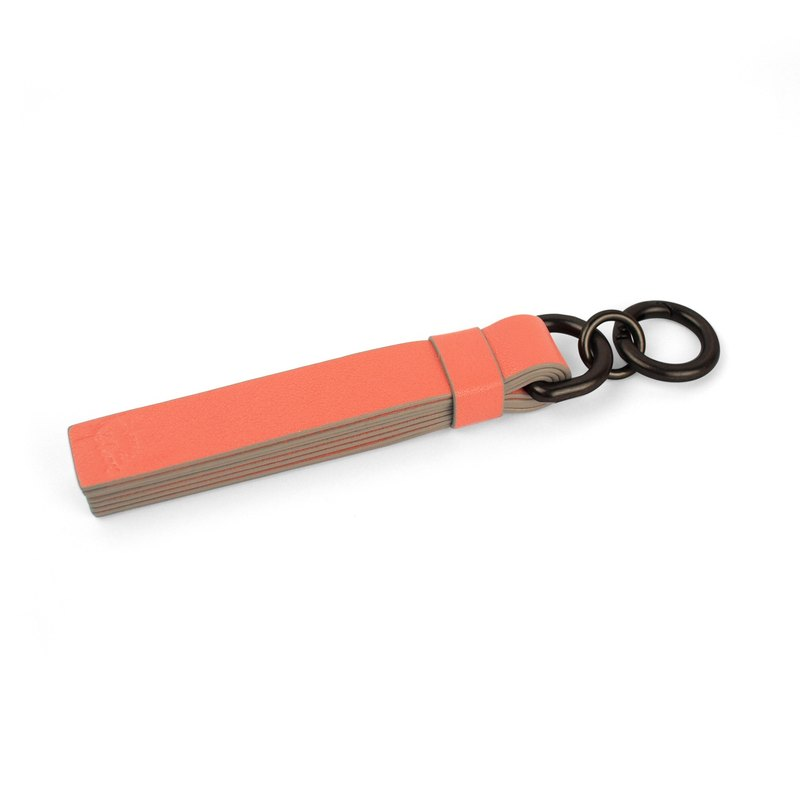 Notepad Tassel/key chain-Tangerine