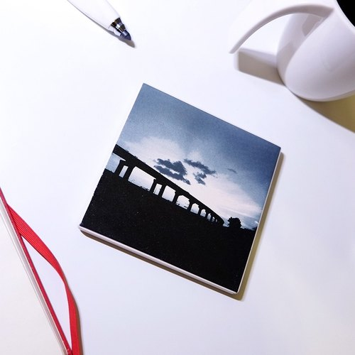 ✡ life impression absorbent non-slip coaster series - Sunset